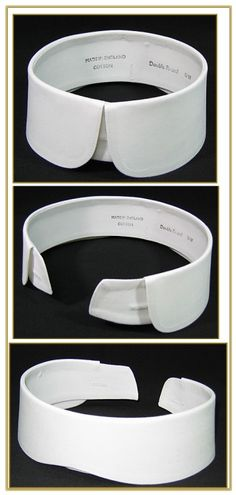 Round Tip Detachable Collar, Style #060-B