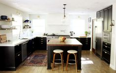 Concrete counters! The Full Kitchen Reveal | Chris Loves Julia