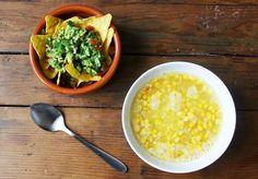 Vegan sweetcorn chowder Vegan Recipes, Clean Eating, Vegetarian, Vegetables, Ethnic Recipes, Kitchen, Food, Eat Healthy, Cucina