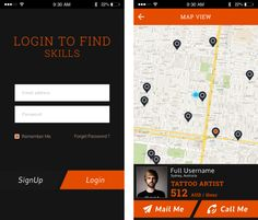 Local Business Finder App allows user to find different business in their locality by choosing appropriate filters to sort it. Business location can also be viewed on Google map