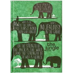 The Jungle Book Notebook by The Literary Gift Company