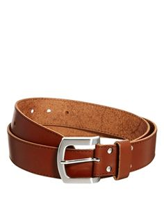 Cinturón de piel para vaqueros de ASOS