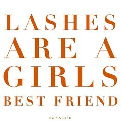 Lashes are really my friend.  www.zivalash.com
