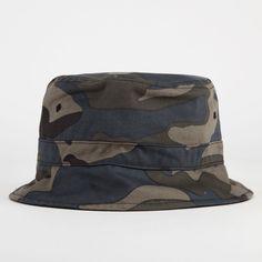 BLUE CROWN Camo Mens Bucket Hat 221859946 | Bucket Hats | Tillys.com