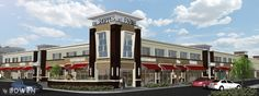 shopping center facade renovation - Google Search
