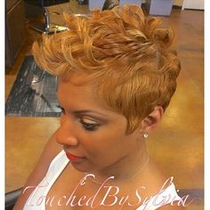 STYLIST FEATURE  This #PixieCut ✂️done by #MontgomeryAL stylist @definingbeauty__ is GORGEOUS Love the soft look and rich color #VoiceOfHair ========================= Go to VoiceOfHair.com ========================= Find hairstyles and hair tips! =========================