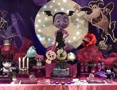Desi Ber Eventos's Birthday / - Vampirina Party at Catch My Party Aaliyah Birthday, 2 Birthday, Little Girl Birthday, 4th Birthday Parties, Birthday Photos, Birthday Party Decorations, Birthday Ideas, Parisian Birthday Party, Alice