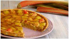 TARTE À LA RHUBARBE Fondant, Waffles, Pie, Breakfast, Sweet, Food, Cheesecakes, Sauces, Parents