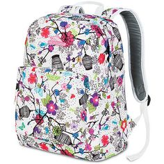 Cute Backpacks for Girls-this is the same pattern Andrea had for the past 2 years but the zipper splits now!  :(