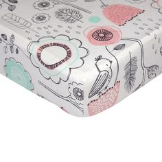 You'll love the Sparrow Print Fitted Crib Sheet at Wayfair - Great Deals on all  products with Free Shipping on most stuff, even the big stuff.