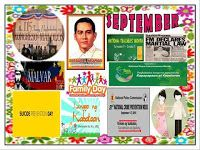 DepEd Monthly Celebrations from June to March. Produce tarpaulins using these images. Use them as bulletin displays. Classroom Charts, Classroom Signs, Classroom Bulletin Boards, Classroom Decor, September Bulletin Boards, Elementary Bulletin Boards, Birthday Calendar Classroom, Back To School Wallpaper, Monthly Celebration