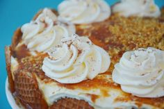 Stroopwafel taart, how to bake, hoe bak je een stroopwafeltaart