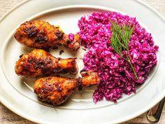 Copănele de pui lipicioase marinate în stil chinezesc la cuptor 🍗 Tandoori Chicken, Ethnic Recipes, Food, Essen, Meals, Yemek, Eten
