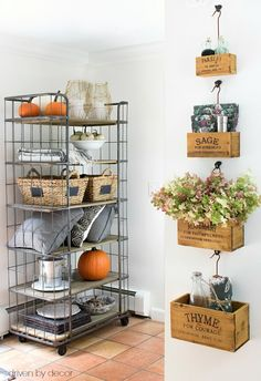 Nesting herb crates