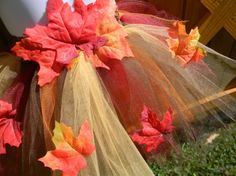 SALE Fall Leaf Tutu Fall Wedding Newborn 3 Month 6 by jwhizcrochet Woodland Fairy, Autumn Theme, Fall Season, Autumn Leaves, Fall Wedding, Tutu, I Shop, Halloween Costumes, Photoshoot