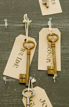 Get your keys from me www.deviskeys.com Alice In Wonderland Wedding  Keys Table Plan