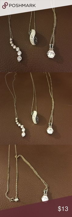 Three necklaces Customs jewelry. Barely worn! Jewelry Necklaces