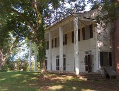 the old Stamey house in Fallston, NC   (Posted by Beth)