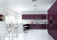 Purple Acrylic Pannel