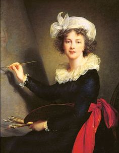 Paris 2015.  Vigée-Lebrun (Élisabeth), au Grand Palais. Du 21 septembre 2015 au 11 janvier 2016.  Louise Élisabeth Vigée Le Brun, Autoportrait (1790)