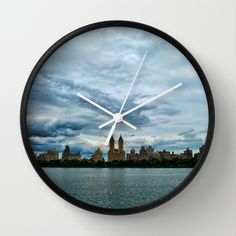 New York City Wall Clock by Claude Gariepy - $30.00
