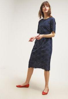 b046524062c226 mint berry - Korte jurk - navy blazer Marine Kleurige Jasjes