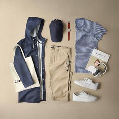 Royal Fashionsit is the best Men's Fashion Guide. Here you will find the latest trends on men's style. Get inspired with these outfits and leave your comment below. Mens Fashion Blog, Best Mens Fashion, Look Fashion, Fashion Guide, Gq Fashion, Chinos Men Outfit, Khaki Pants Outfit, Moda Blog, Stylish Mens Outfits