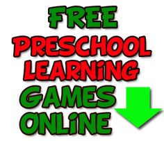 Pre K Games online for kids, Children's games and pre k learning games for free and playable online!