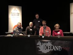 Our panel at Iceland Noir (with L-R: David Headley, Michael J. Malone, William Ryan and James Oswald) was all about the supernatural -- elves, ghosts, trolls and things that go bump in the night. Michael J, Ghosts, Elves, Bump, Iceland, Supernatural, Zodiac, David, Night