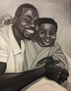 A Good Moment by Cbabi Bayoc - 365 Days with Dad #CbabiBayoc #365DayswithDad #BlackArt