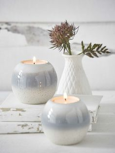 Arctic Tealight Holder #nordichouse #tealights