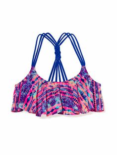 This is such a colorful and exiting bikini top for the summer!!!!!