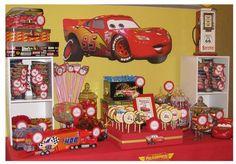 Hostess with the Mostess® - Disney Cars Lightning McQueen Candy Buffet