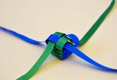 A Matter Of Style: DIY Fashion: Silk Ribbon statement necklace DIY
