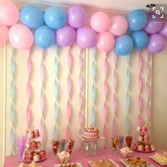 декор детского дня рождения баннер и гирлянды из шаров: 23 тыс изображений найдено в Яндекс.Картинках