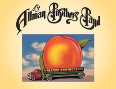 """Allman Brothers Band. Eat A Peach is the album that brought us """"Melissa"""", """"Blue Sky"""" and """"Little Martha"""", among others."""