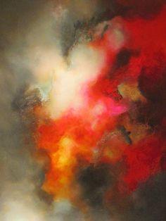 Mesmerizing - the colors vibrate Art : Oil Painting : Simon Kenny