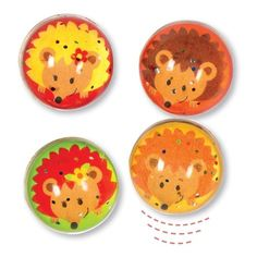 These glittery hedgehog bouncy balls will be found inside the parties bags, given to all of the guests at the end of the party Craft Shop, Craft Kits, Craft Supplies, 6th Birthday Parties, Party Bags, Glitter, Things That Bounce, Hedgehog, Arts And Crafts