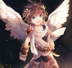 Metroid, Pokemon, Icarus Game, Kid Icarus Uprising, Chibi, Nintendo Super Smash Bros, Nintendo Characters, Random Kid, Game Character