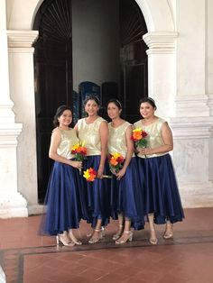 Navy Blue And Gold Wedding, Bridesmaid Dresses, Wedding Dresses, Fashion, Bridesmade Dresses, Bride Dresses, Moda, Bridal Gowns, Fashion Styles