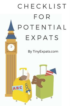 Check list for potential expats by TinyExpats.com