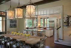 Casual By The Lake - traditional - dining room - atlanta - Splash Kitchens & Baths LLC