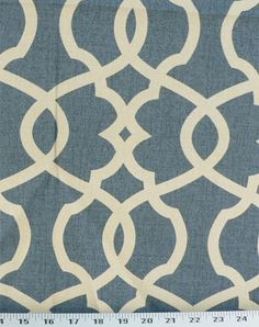 "Emory Yacht (Magnolia Home Fashions), 100% cotton, 6.75-8.75"" vertical/horizontal repeat."