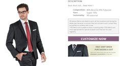Design Your Custom Suit at Blackpier - step 2