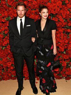 Drew Barrymore and Will Kopelman make black tie look easy!