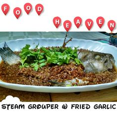 Stream Grouper w Fried Garlic