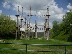 Culinary Adventures in Europe: High Ropes Course in Nagold,Germany