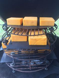 How to Cold Smoke Cheese Griddle Recipes, Smoked Cheese, Up In Smoke, Green Eggs, Recipe Images, Grilling, Bbq, Snacks, Cold