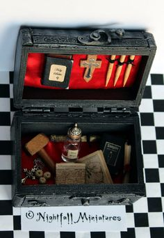 Playscale Dollhouse Miniature Gothic by NightfallMiniatures, £30.00
