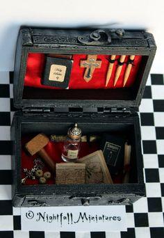 Playscale Dollhouse Miniature Gothic by NightfallMiniatures, £30.00